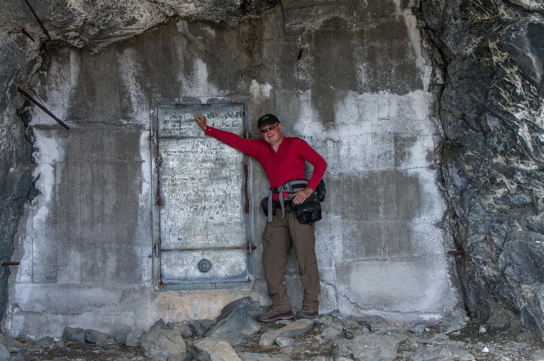 Kvanefjeld Uranium Mine Entrance