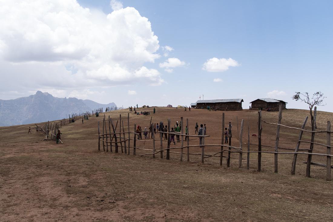 Sona Village Primary School, Simien Mountains, Ethiopia