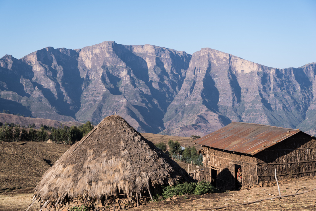Sona Village, Simien Mountains, Ethiopia
