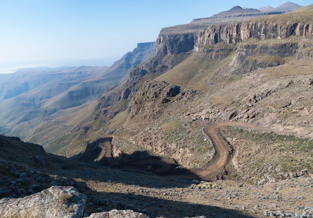 The infamous Sani Pass