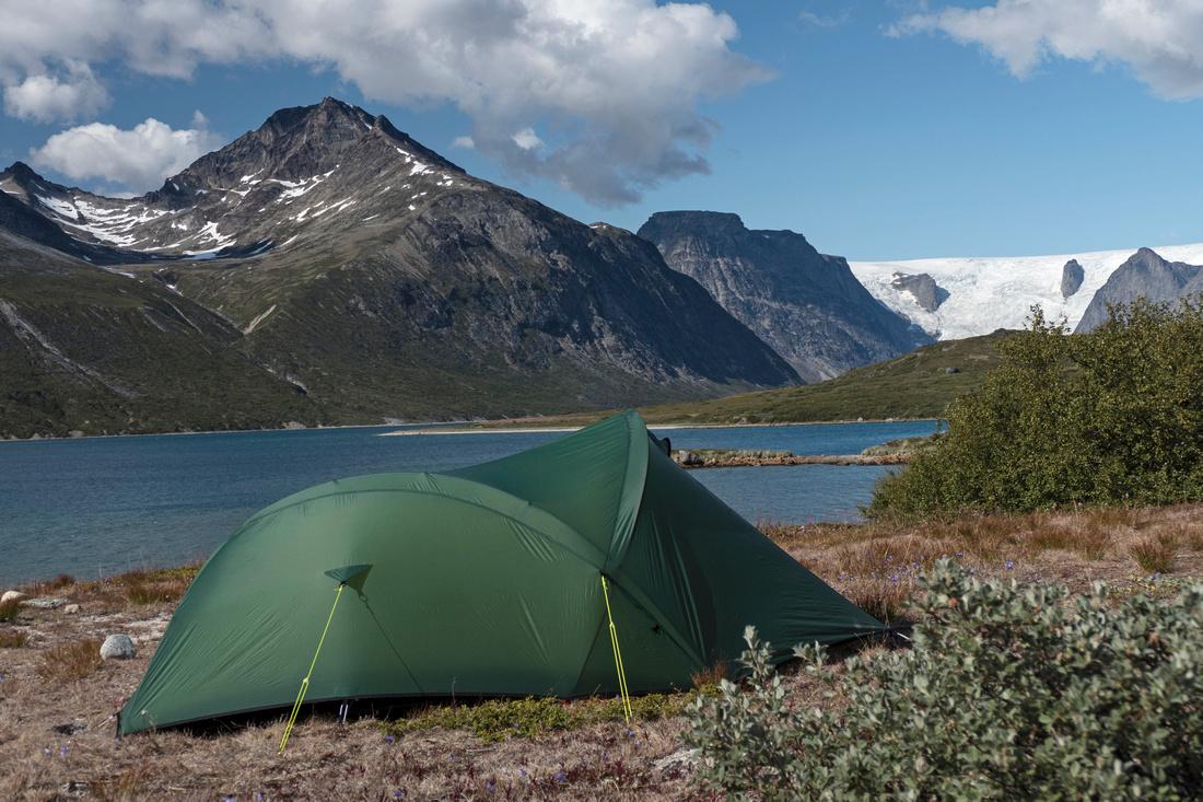 Wild Camp in Tasermuit Fjord