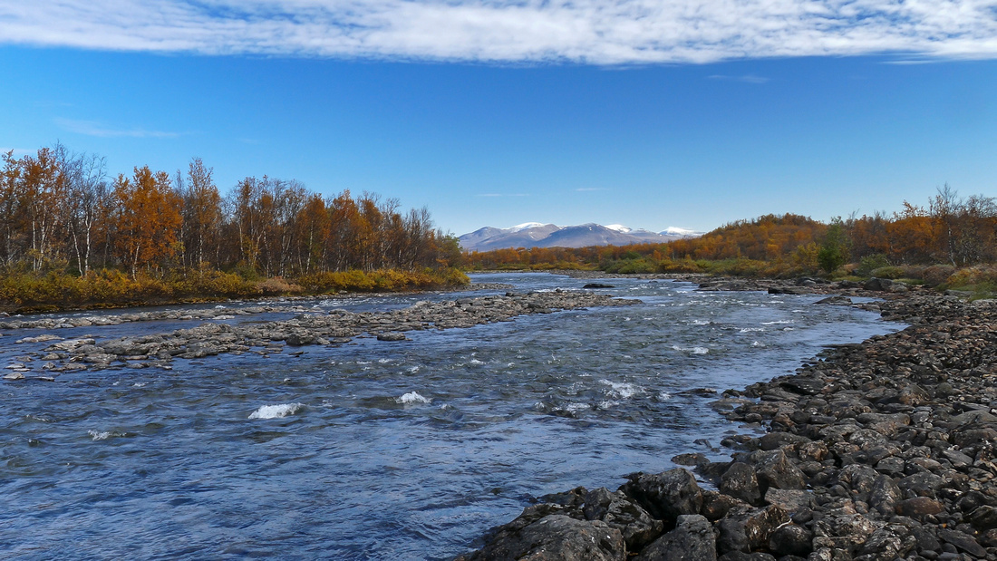Abiskojåkka River, Abisko National Park, Sweden