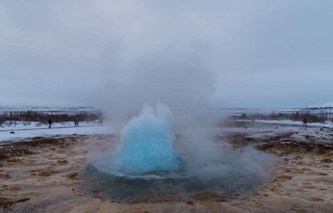 Strokkur Geyser, Haukadalur geothermal area