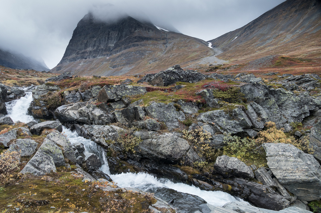 Waterfall near Kebnekaise
