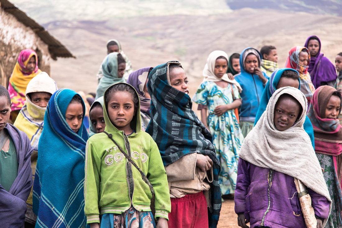 Sona Village Primary School pupils, Ethiopia