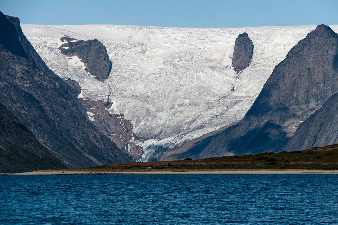 Edge of the Greenland Icecap